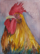 A Rooster for Chris    Dorothy dhunter Adams   SOLD