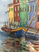 Burano   Dorothy dhunter Adams  SOLD