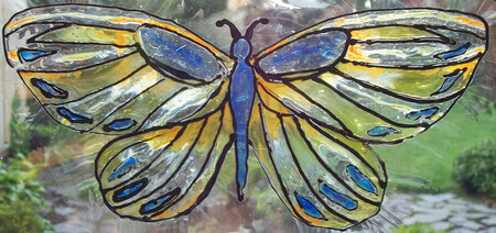 Butterfly - Blue & Yellow