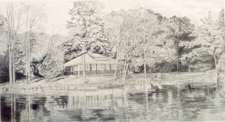 Cottage on Brittain Lake   SOLD