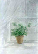 Geranium in My Window - SOLD