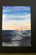 Evening Sail on Lake Huron SOLD