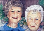 Kelly`s Mom and Granny   dorothy dhunter adams