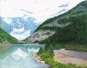 Lake Louise, Alberta AC   Dorothy dhunter Adams