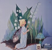 lily of the valley fairy   child's bedroom SOLD