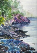 Mists of Pender Island    Dorothy dhunter Adams