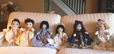 Topsy Turvey   Six Dolls   awake   Dorothy dhunter Adams