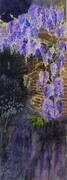 wisteria at dusk   dorothy dhunter adams   SOLD